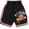 MULTI PRINT BASKETBALL SHORTS KIDS