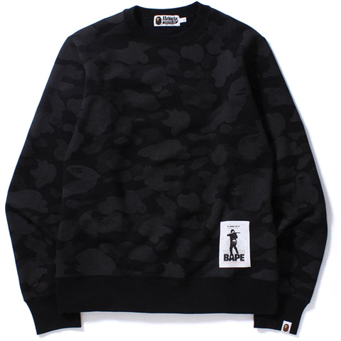 REFLECTION CAMO CREWNECK