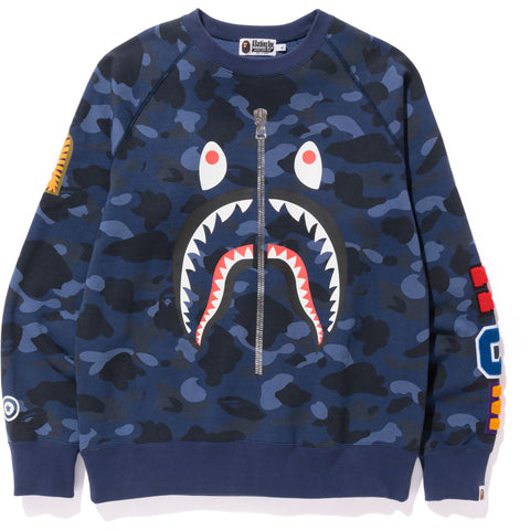COLOR CAMO SHARK CREWNECK M