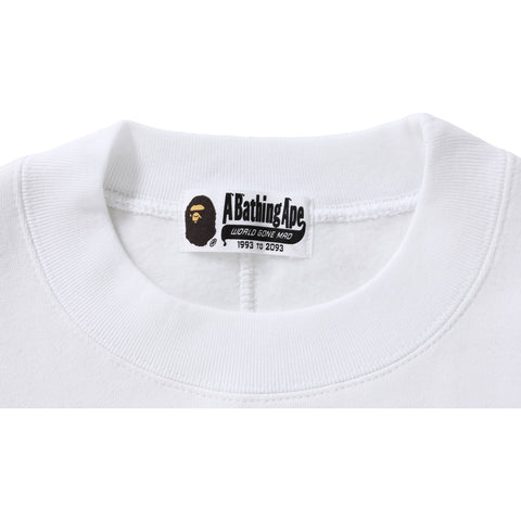 BAPE SHORT LENGTH CREWNECK / LADIES