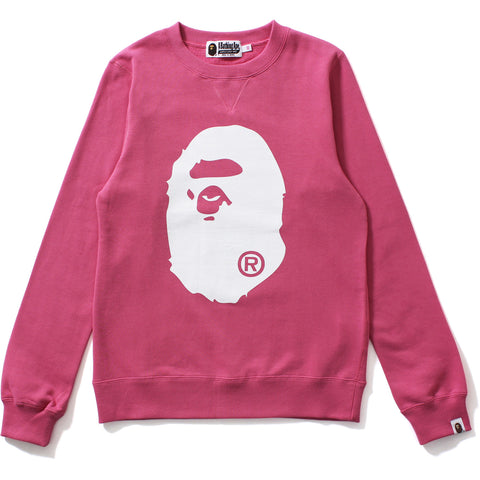 BIG APE HEAD CREWNECK LADIES