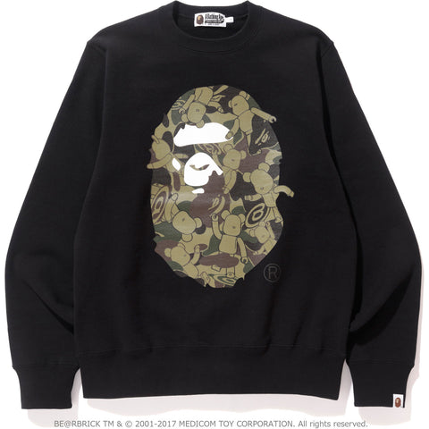 MEDICOMTOY BE@R CREWNECK MENS
