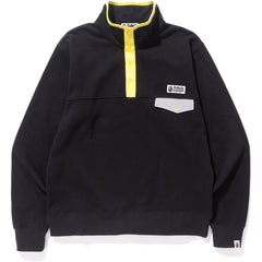 COLOR BLOCK WIDE SWEAT MENS