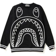 BIG SHARK OVERSIZED CREWNECK LADIES