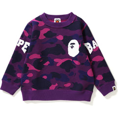 COLOR CAMO CREWNECK KIDS