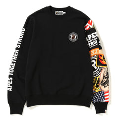 PATCHED CREW NECK MENS