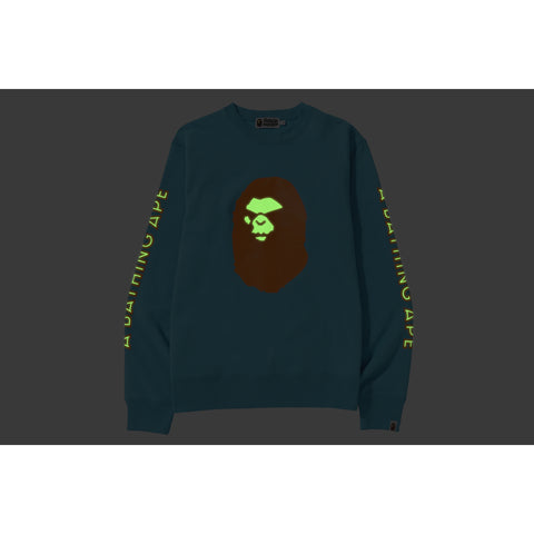 MAD FACE WIDE CREWNECK MENS