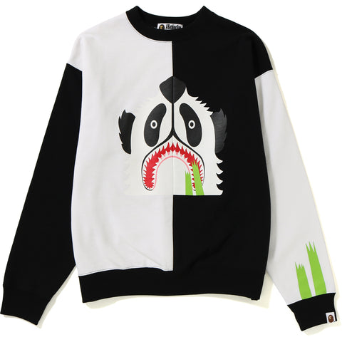 PANDA WIDE CREWNECK LADIES