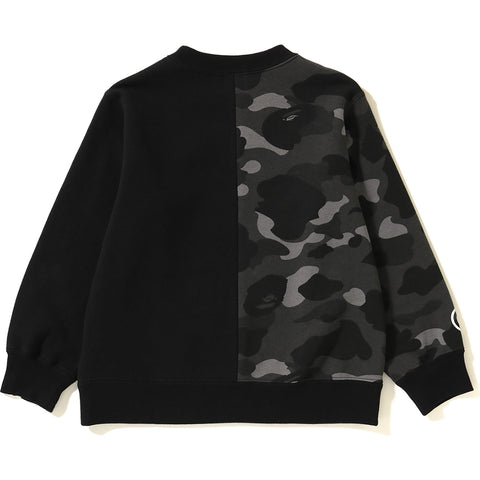 COLOR CAMO TIGER SHARK CREWNECK KIDS