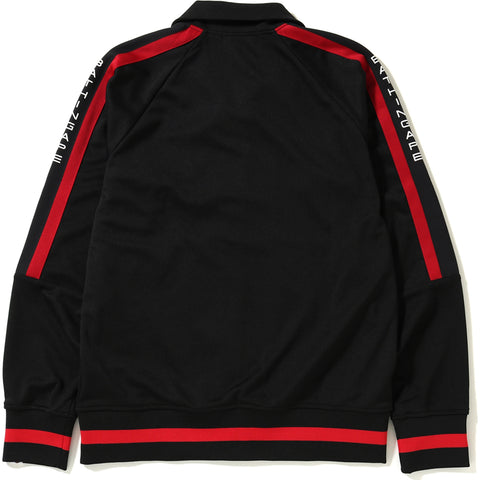 LOGO TAPE JERSEY TRACK TOP MENS