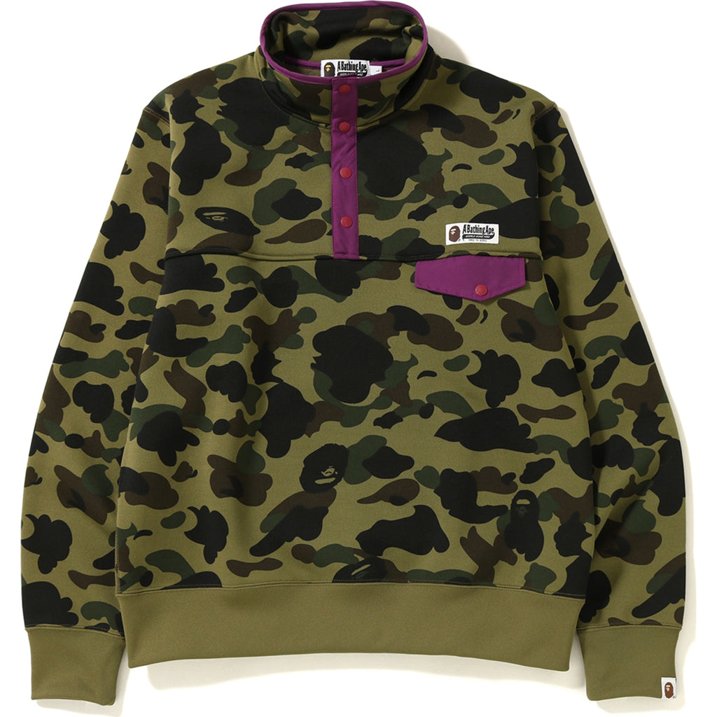 1ST CAMO WIDE SWEATER MENS