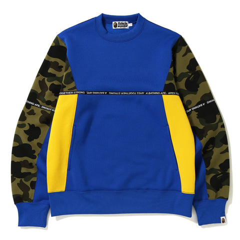 LOGO TAPE CREWNECK MENS