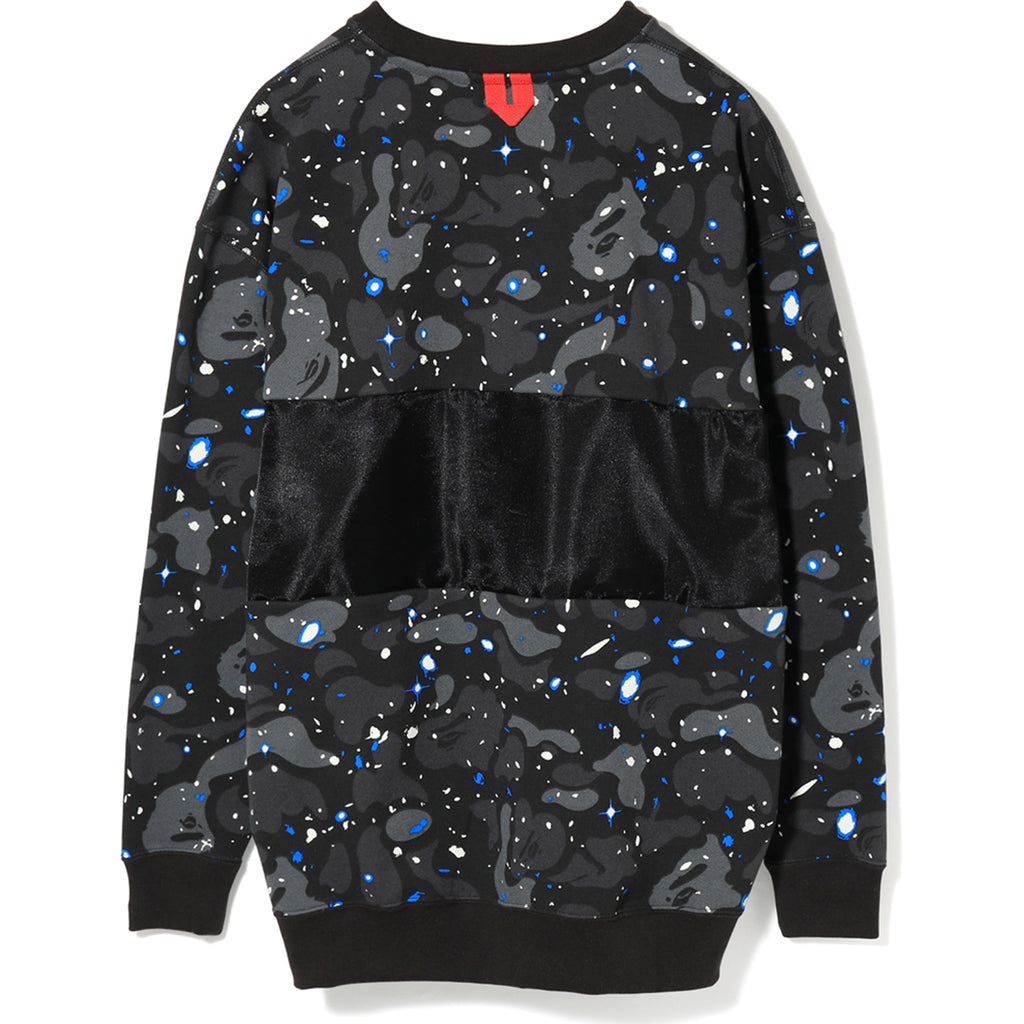 SPACE CAMO OVERSIZED CREWNECK LADIES