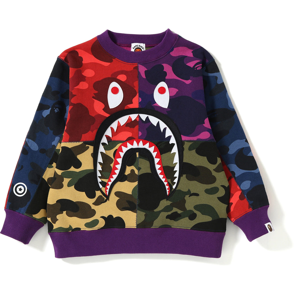 MIX CAMO SHARK CRAZY SWEAT KIDS