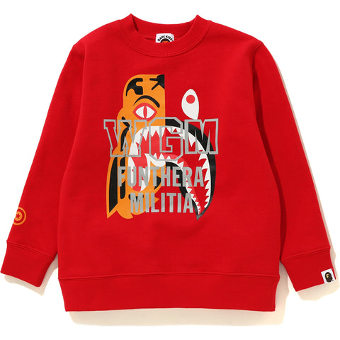 TIGER SHARK CREWNECK KIDS