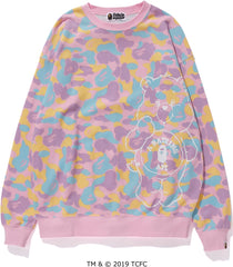 BAPE X CARE BEARS OVERSIZED CREWNECK LADIES