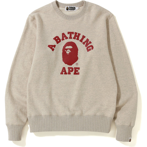 COLLEGE CREWNECK MENS