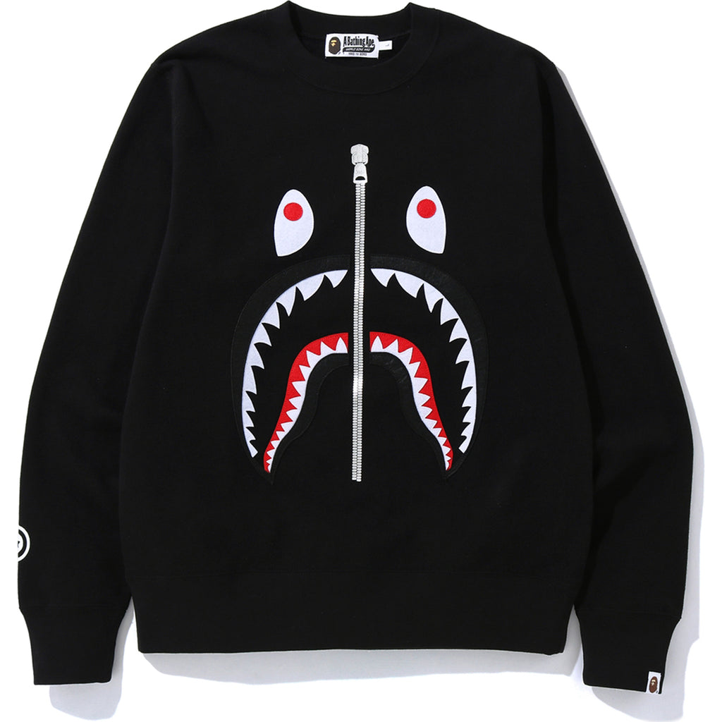 SHARK CREWNECK MENS