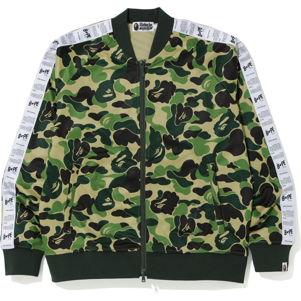 ABC BAPE STA TAPE JERSEY TOP MENS
