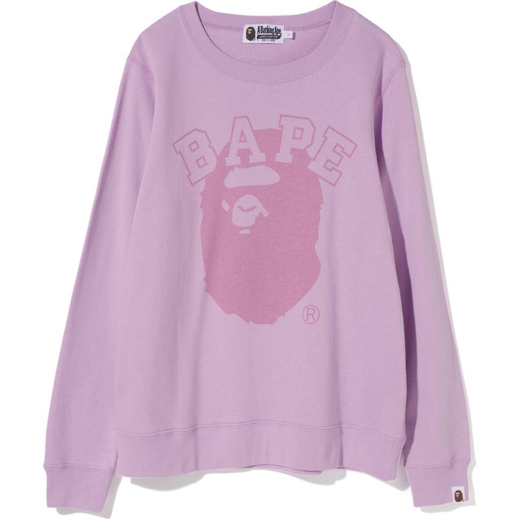 PIGMENT BAPE APE HEAD CREWNECK LADIES