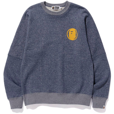 CHAMPION BIG LOGO WIDE CREWNECK MENS