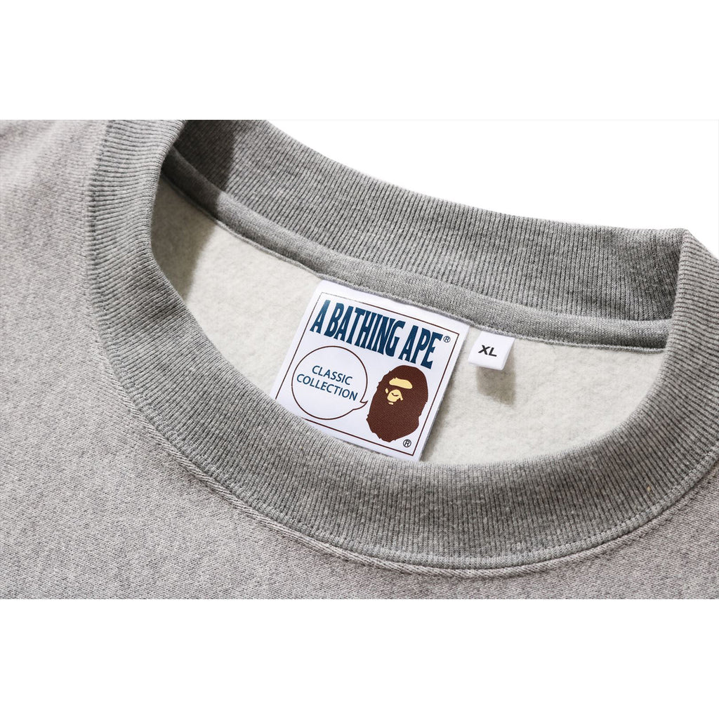 RELAXED COLLEGE CREWNECK MENS