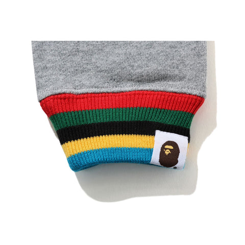 COLLEGE LINE RIB CREWNECK KIDS