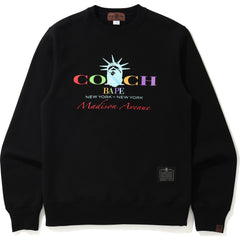 BAPE X COACH MADISON CREWNECK MENS