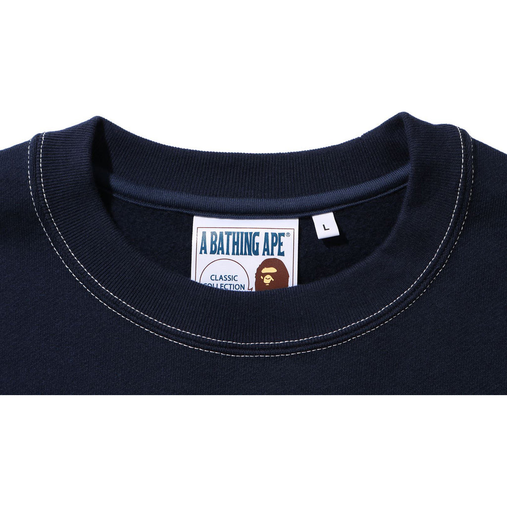 RELAXED CLASSIC COLLEGE CREWNECK MENS