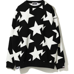 STA PATTERN OVERSIZED CREWNECK LADIES