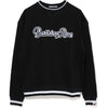 APPLIQUE WIDE CREWNECK LADIES