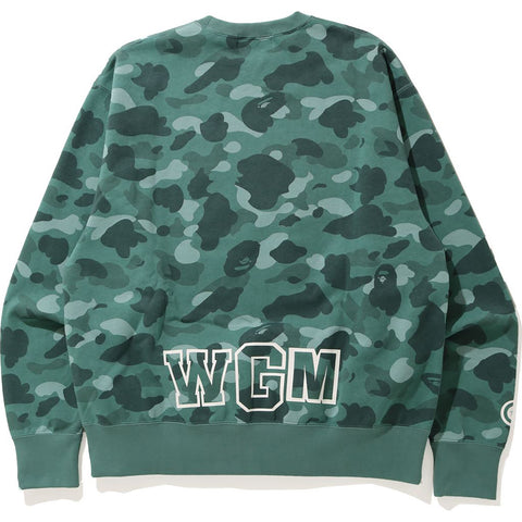 COLOR CAMO SHARK RELAXED CREWNECK MENS