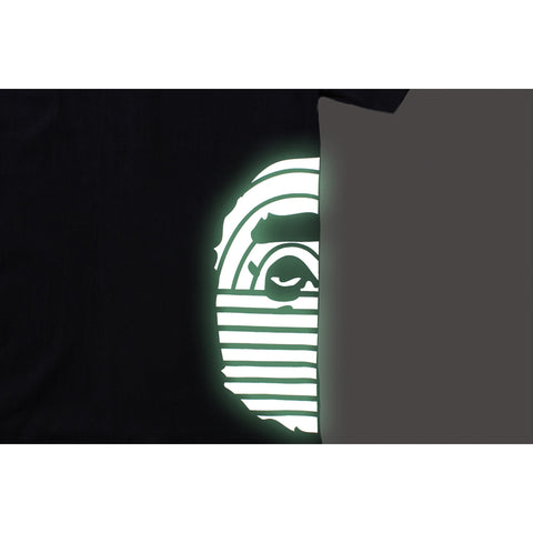 BAPE GLOW IN THE DARK PRINT TEE