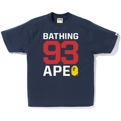 BATHING APE 93 TEE M