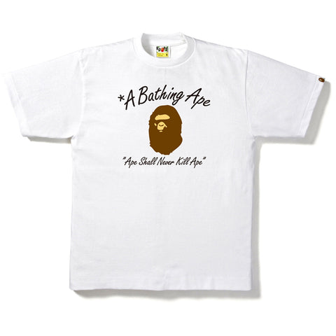 A BATHING APE ASNKA TEE