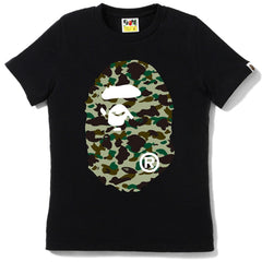 1ST CAMO BIG APE HEAD TEE/AP