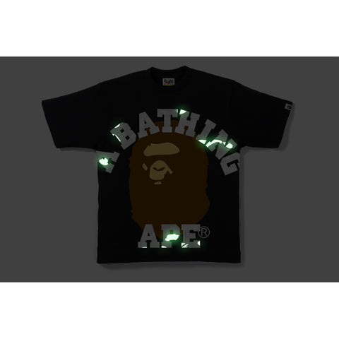 CITY CAMO FACE OVER COLLEGE TEE M