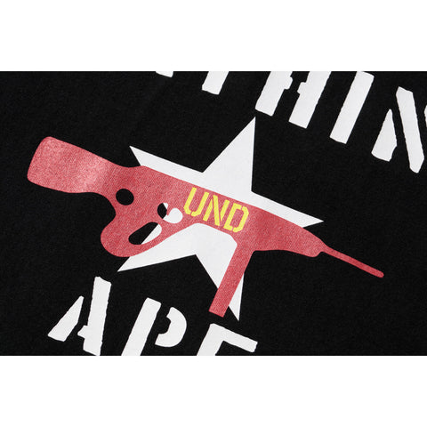 UNDEFEATED STENCIL PRINT TEE MENS