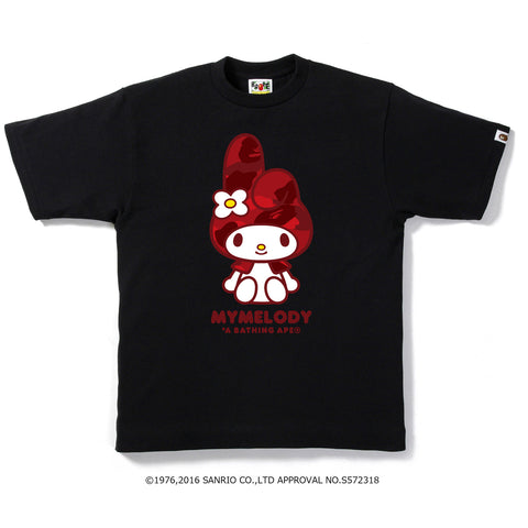 MY MELODY COLOR CAMO TEE M