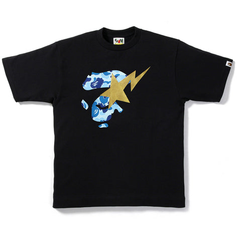 ABC CAMO APE FACE ON BAPESTA TEE / MENS