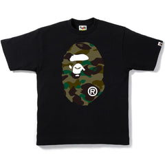 1ST CAMO BIG APE HEAD TEE M