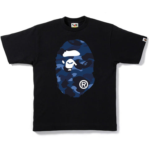 COLOR CAMO BIG APE HEAD TEE M