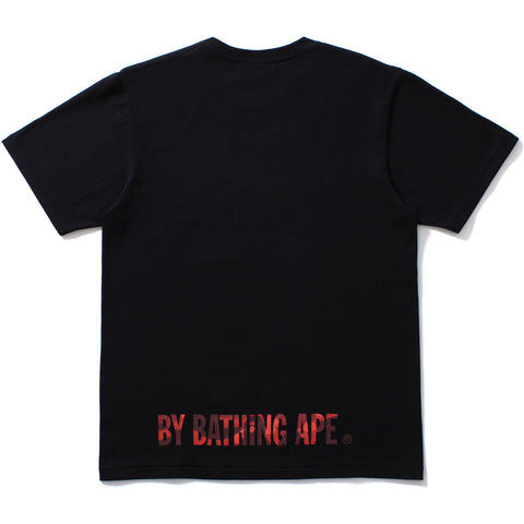 COLOR CAMO APE FACE ON BAPESTA TEE MENS