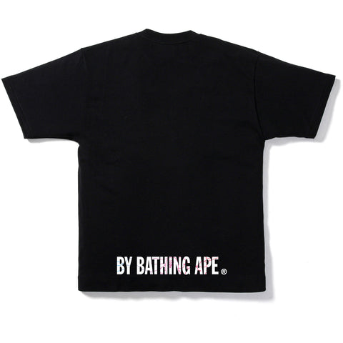 PENCIL NEON CAMO APE FACE TEE MENS
