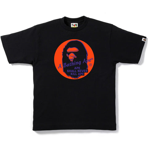APE HEAD IN THE CIRCLE TEE M