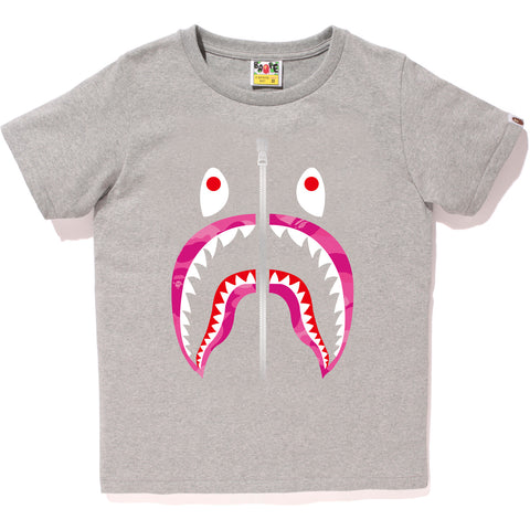 COLOR CAMO SHARK TEE L