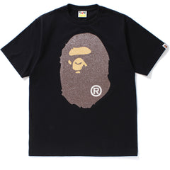 GLASS BEADS BIG APE HEAD TEE MENS