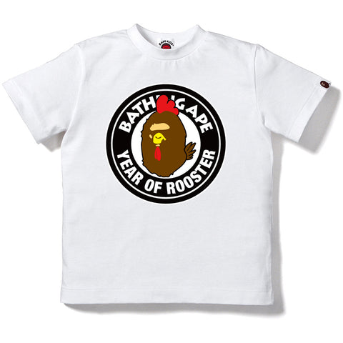 YEAR OF ROOSTER BWS TEE K