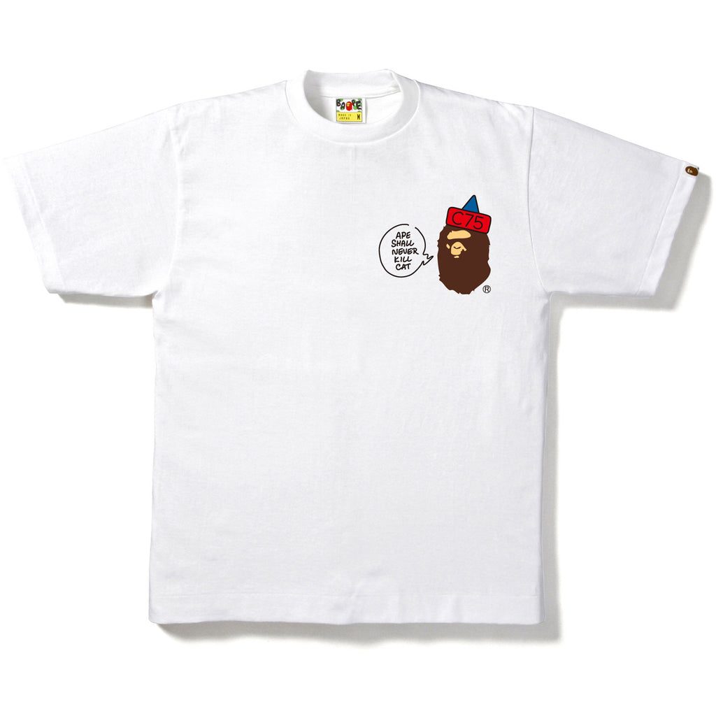 CLUB75 APE HEAD TEE MENS