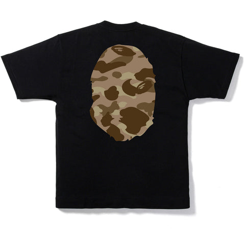 COLOR CAMO BIG APE HEAD TEE MENS